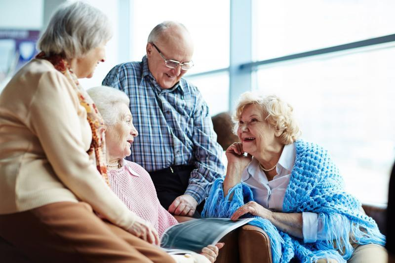 дом для одиноких пенсионеров