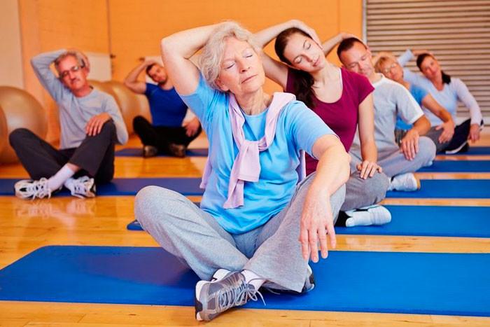 гимнастика для пожилых