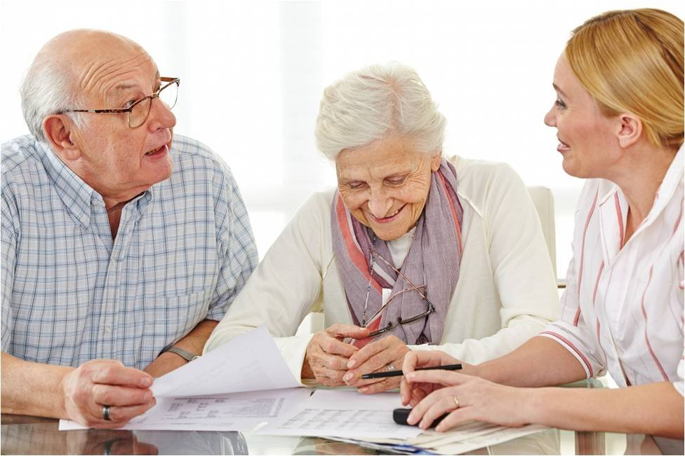прием в дом престарелых