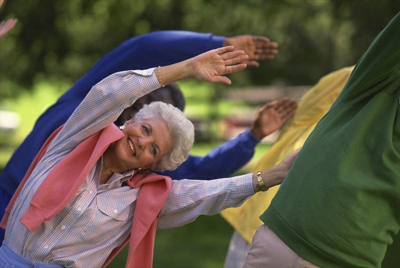 спорт для пенсионеров