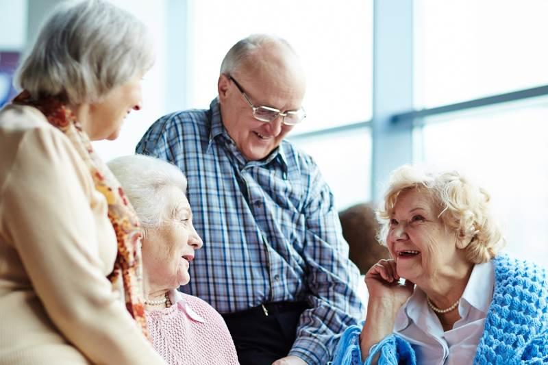 общение пожилых