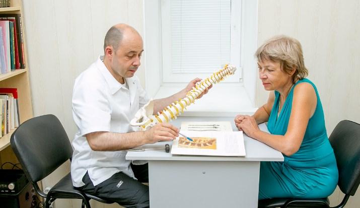 остеохондроз у женщины