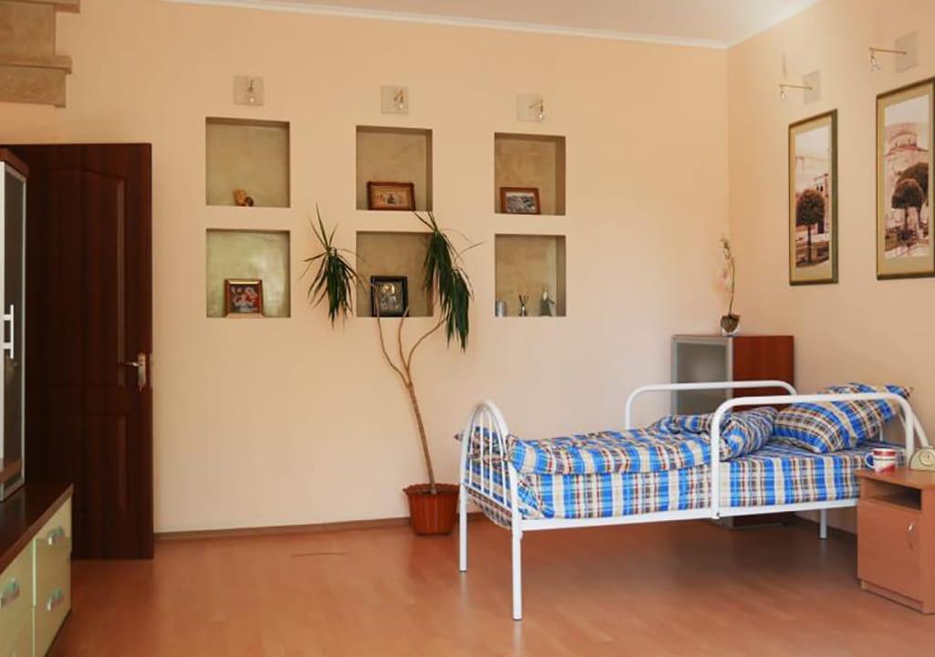 комната для лежачих больных