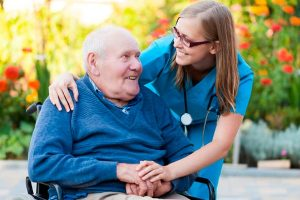 забота и уход за пенсионерами