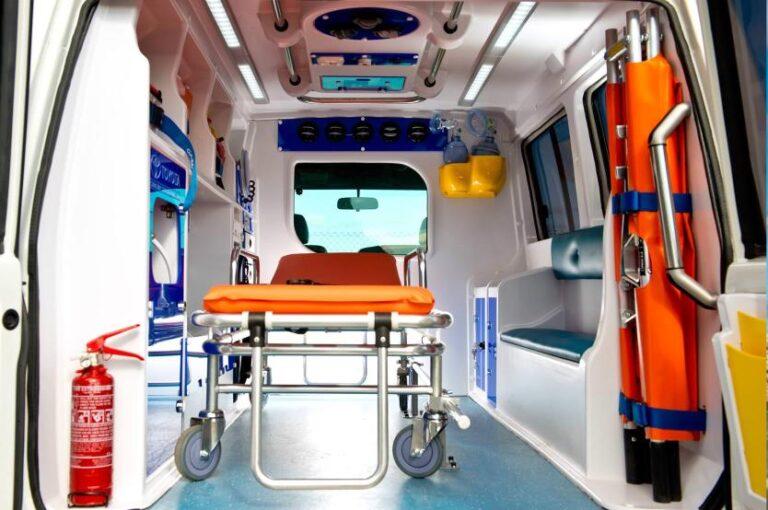 машина для транспортировки лежачего